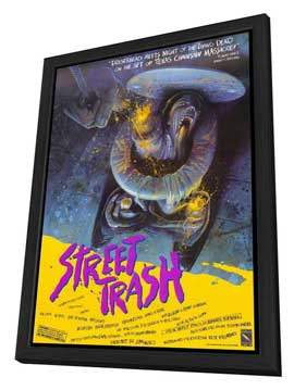 Street Trash - 27 x 40 Movie Poster - Style A - in Deluxe Wood Frame