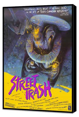 Street Trash - 27 x 40 Movie Poster - Style A - Museum Wrapped Canvas