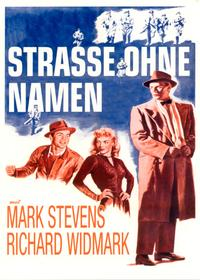 Street With No Name - 11 x 17 Movie Poster - German Style A