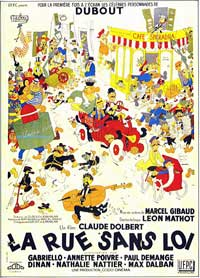 Street Without a King - 11 x 17 Movie Poster - French Style A