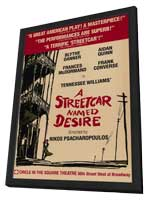 Streetcar Named Desire, A (Broadway) - 27 x 40 Movie Poster - Style A - in Deluxe Wood Frame