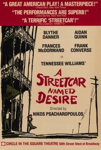 Streetcar Named Desire, A (Broadway) - 27 x 40 Movie Poster - Style A