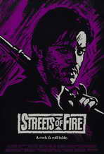 Streets of Fire - 27 x 40 Movie Poster - Style D