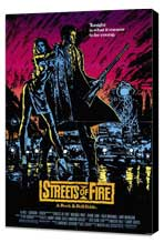Streets of Fire - 27 x 40 Movie Poster - Style A - Museum Wrapped Canvas