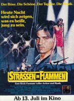 Streets of Fire - 11 x 17 Movie Poster - German Style A