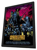 Streets of Fire - 11 x 17 Movie Poster - Style A - in Deluxe Wood Frame