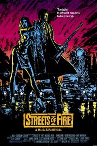 Streets of Fire - 11 x 17 Movie Poster - Style A
