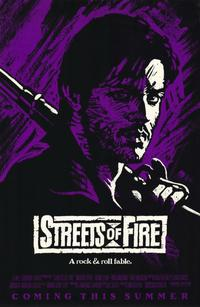 Streets of Fire - 11 x 17 Movie Poster - Style B