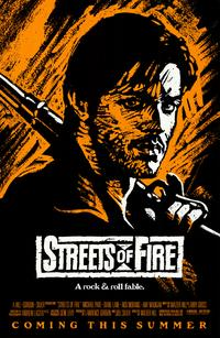 Streets of Fire - 11 x 17 Movie Poster - Style C