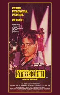 Streets of Fire - 11 x 17 Movie Poster - Australian Style A