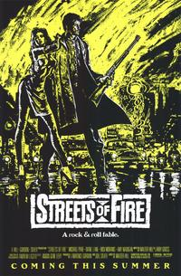 Streets of Fire - 11 x 17 Movie Poster - Style D