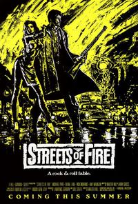 Streets of Fire - 27 x 40 Movie Poster - Style B