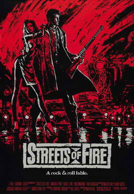 Streets of Fire - 11 x 17 Movie Poster - Style E