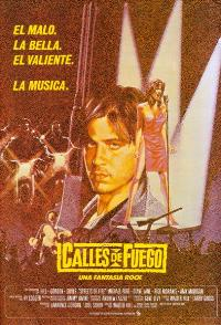 Streets of Fire - 43 x 62 Movie Poster - Spanish Style A