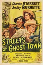 Streets of Ghost Town - 27 x 40 Movie Poster - Style A