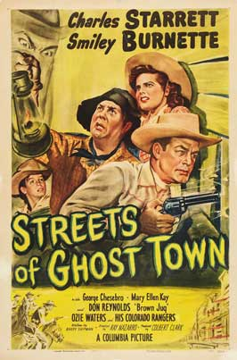 Streets of Ghost Town - 11 x 17 Movie Poster - Style A