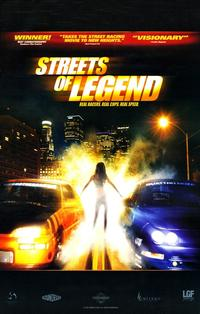 Streets of Legend - 11 x 17 Movie Poster - Style A