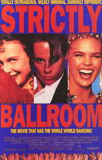 Strictly Ballroom - 11 x 17 Movie Poster - Style D