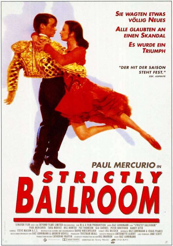 Strictly Ballroom Movie Posters From Movie Poster Shop