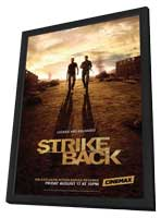 Strike Back (TV) - 11 x 17 TV Poster - Style C - in Deluxe Wood Frame