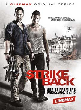 Strike Back (TV) - 11 x 17 TV Poster - Style A