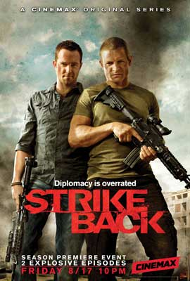 Strike Back (TV) - 11 x 17 TV Poster - Style B