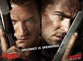 Strike Back (TV) - 11 x 14 TV Poster - Style A