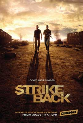 Strike Back (TV) - 11 x 17 TV Poster - Style C