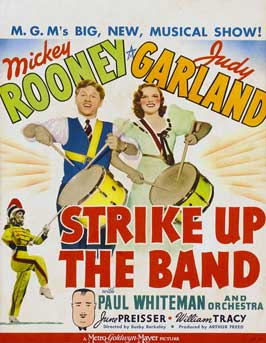 Strike Up the Band - 11 x 17 Movie Poster - Style B