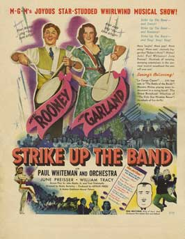 Strike Up the Band - 11 x 17 Movie Poster - Style C