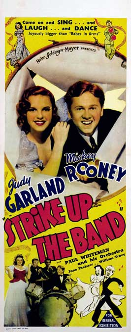 Strike Up the Band - 14 x 36 Movie Poster - Insert Style A