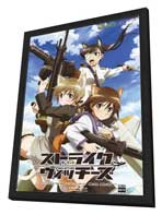 Strike Witches - 11 x 17 Movie Poster - Japanese Style B - in Deluxe Wood Frame