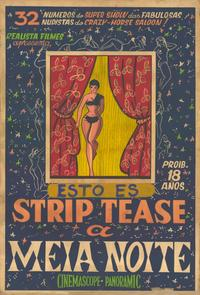 Strip Tease - 11 x 17 Movie Poster - Spanish Style A