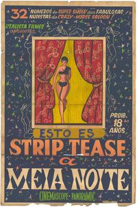 Strip Tease - 27 x 40 Movie Poster - Spanish Style A