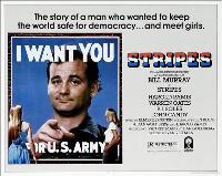 Stripes - 30 x 40 Movie Poster UK - Style A