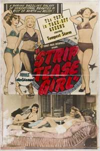 Striptease Girl - 43 x 62 Movie Poster - Bus Shelter Style A