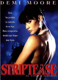 Striptease - 27 x 40 Movie Poster - Spanish Style A