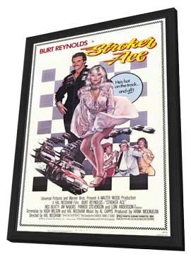 Stroker Ace - 11 x 17 Movie Poster - Style A - in Deluxe Wood Frame