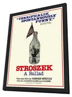 Stroszek - 11 x 17 Movie Poster - Style A - in Deluxe Wood Frame