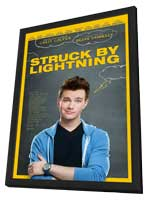 Struck By Lightning - 27 x 40 Movie Poster - Style A - in Deluxe Wood Frame
