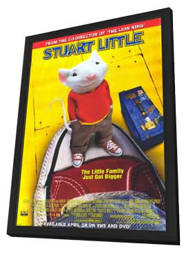 Stuart Little - 11 x 17 Movie Poster - Style A - in Deluxe Wood Frame