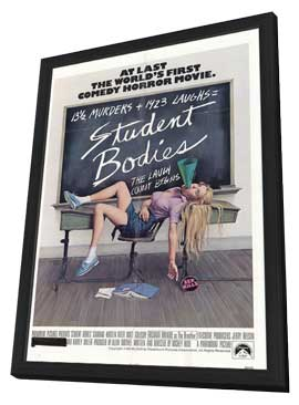 Student Bodies - 11 x 17 Movie Poster - Style A - in Deluxe Wood Frame
