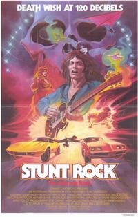 Stunt Rock - 11 x 17 Movie Poster - Style A