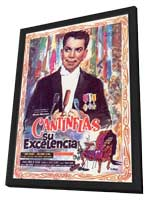 Su excelencia - 11 x 17 Movie Poster - Spanish Style B - in Deluxe Wood Frame