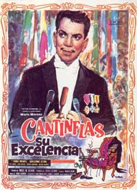 Su excelencia - 43 x 62 Movie Poster - Spanish Style A