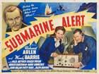 Submarine Alert - 22 x 28 Movie Poster - Half Sheet Style A