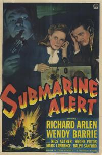 Submarine Alert - 11 x 17 Movie Poster - Style A