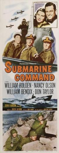 Submarine Command - 14 x 36 Movie Poster - Insert Style A