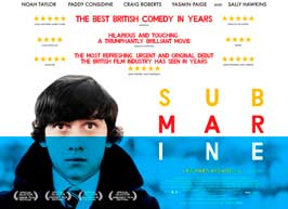 Submarine - 11 x 17 Movie Poster - UK Style A