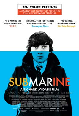 Submarine - 43 x 62 Movie Poster - Bus Shelter Style A